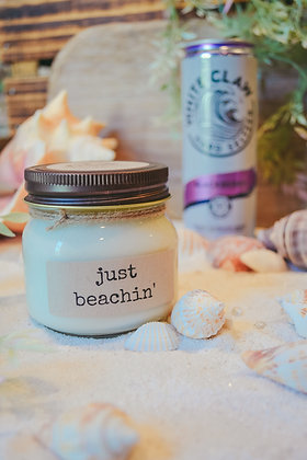 Just Beachin' Soy Candle