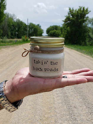Takin' the Backroads Soy Candle