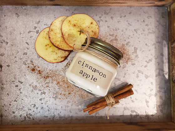 Cinnamon Apple Soy Candle