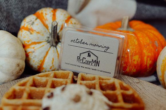 October Morning Wax Melt