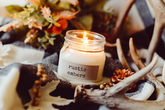 Rustic Embers Soy Candle