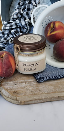Peachy Keen Soy Candle