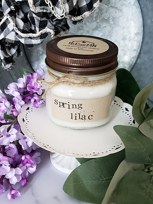 Spring Lilac Soy Candle