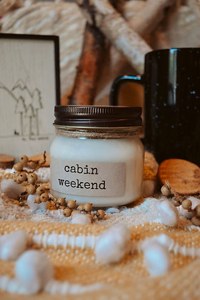 Cabin Weekend Soy Candle