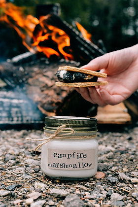 Campfire Marshmallow Soy Candle