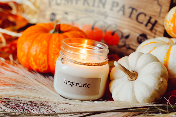 Hayride Soy Candle