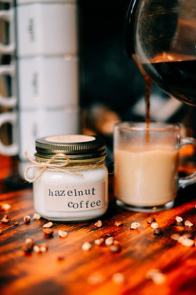 Hazelnut Coffee Soy Candle