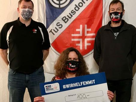 Mitglieder des TuS Busdorf