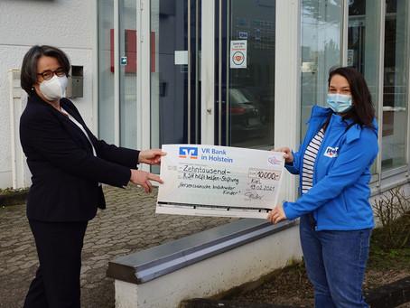 10.000 Euro VR Bank Holstein