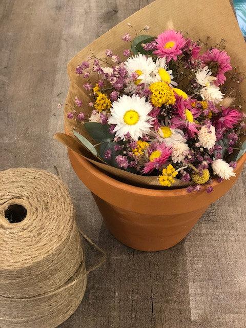 Bouquet de fleurs sechées