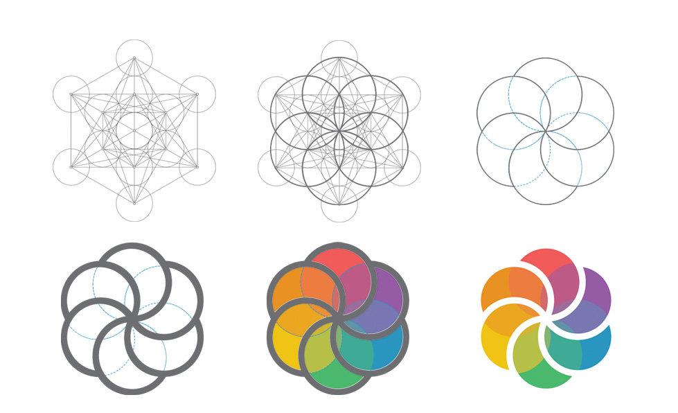 Ente Comunica - Construção do Logo