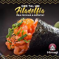 Himeji Sushibar - Social Media