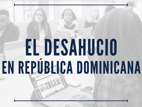 El desahucio en el Codigo de Trabajo Dominicano
