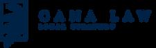 Logo Cana Law azul sin fondo
