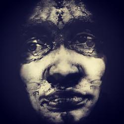 "Jina Edwards / ""Perceptive Perception"" / Black And White Photograph On Transparency Film"