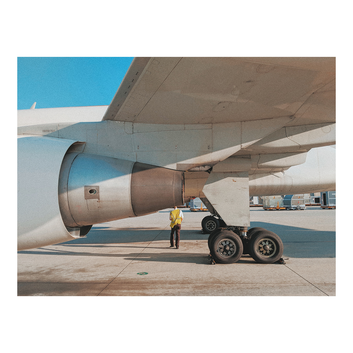 "Ralph Acosta / ""Pilot's, visual check"" / Photography / 11x14 / $700"