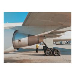 "Ralph Acosta / ""Pilot's, visual check"" / Photography / 11x14 / $700"