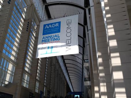 小山内先生がアメリカ癌学会(AACR2018)に出席しました