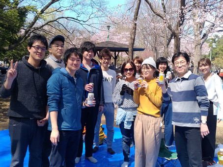 お花見に行きました@円山公園(札幌市)