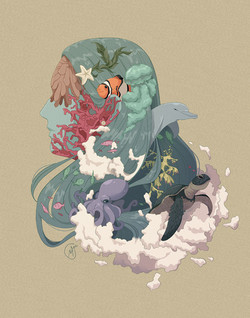 "Morgan McCloskey - ""The Sea and Me"" / Digital / 11x14 / $60"