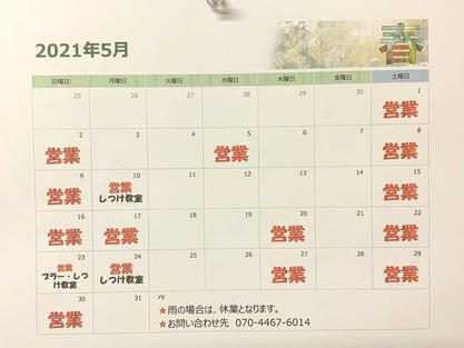 5月・6月の予定表🐶🐶