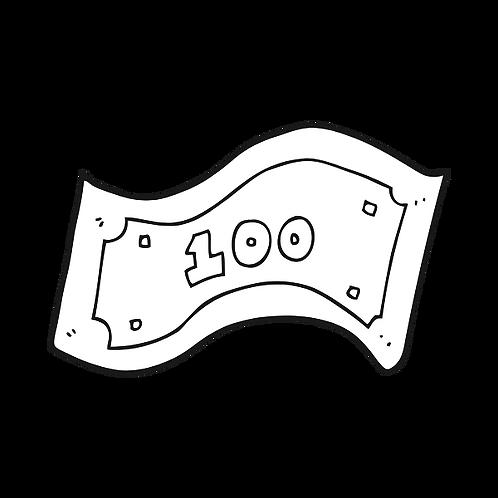 $100 Refundable Deposit