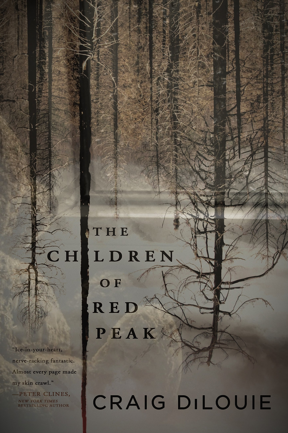 A Horror Book Review from Craig DiLouie's The Children of Red Peak  (Daily Strange Special Cover)