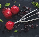 Berries Ice Cream Balls