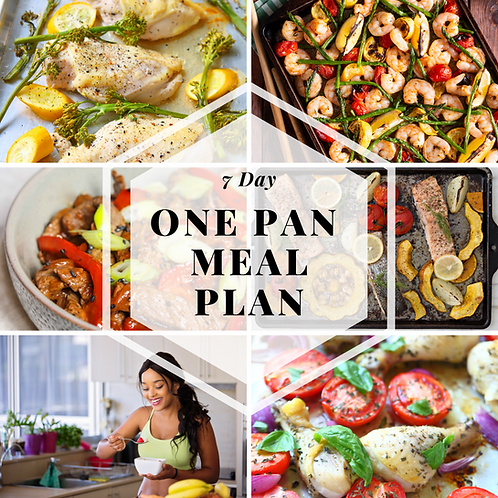 7-Day One Pan Meal Plan