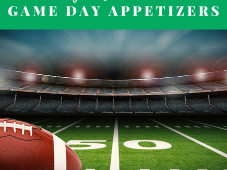 Delicious and Healthy Super Bowl Appetizers that Won't Add to Your Waistline.