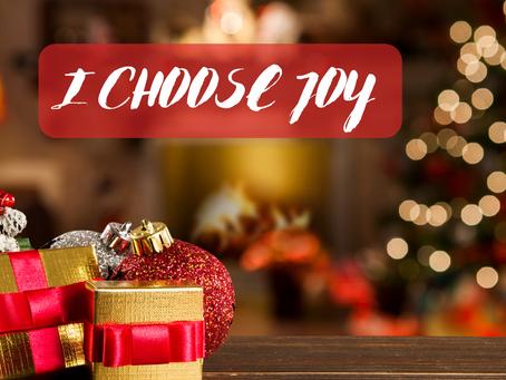 How to Choose Joy this Holiday Season