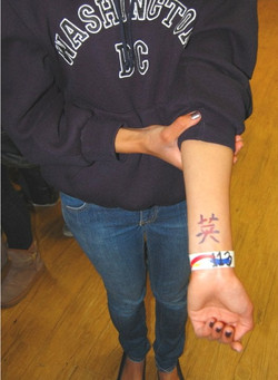 Airbrush Tattoo Airtist Lahaina -Chinese Stencil