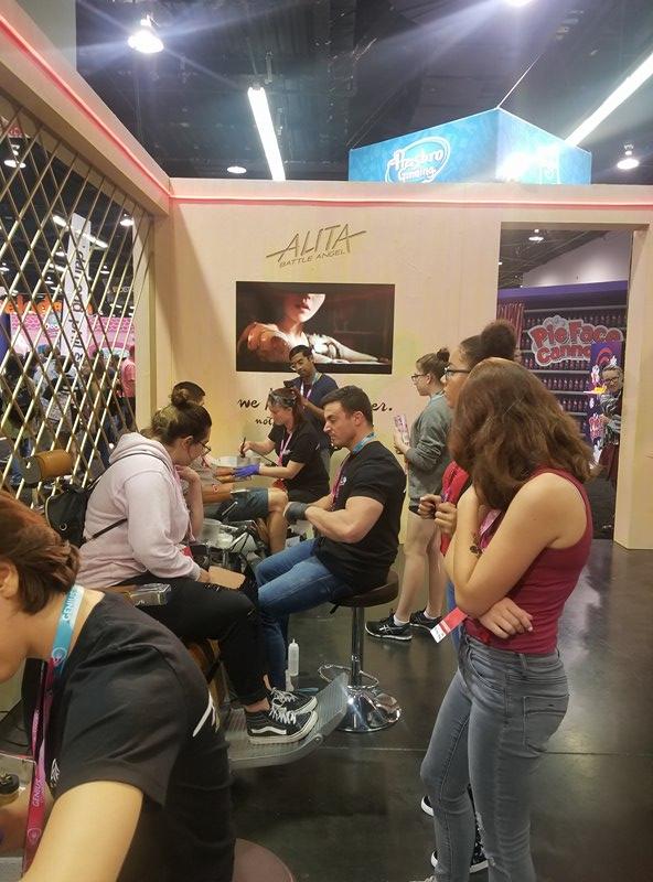 Alita Vidcon 2018 - Anaheim
