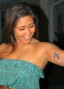 Airbrush Tattoo Airtist - kaanapali beach