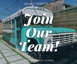 Barback, Bar Tended Needed! (Paid) - Welcome Back Lounge
