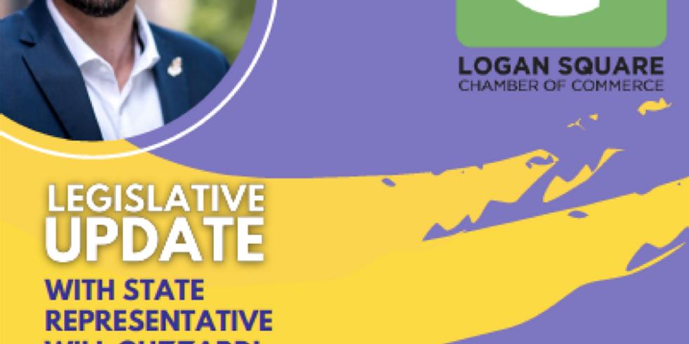 Legislative Update with State Representative with Will Guzzardi