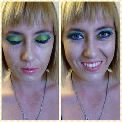 Instagram - Did uber fun #makeup on my best friend tonight so I can practice mor