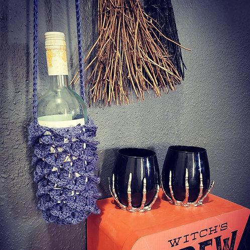 Dragon Scale Wine Bottle Cozy