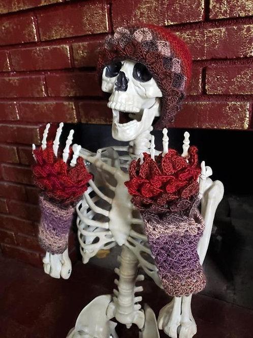 Dragon Scale Gloves & Beanie