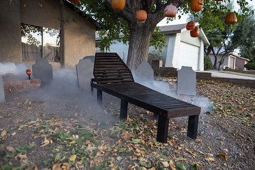 Rest In Patio Coffin Lounge Chair with Cushion