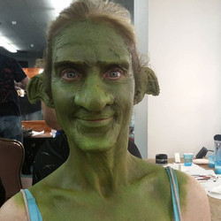 Instagram - One of my gobby #goblin makeups from this past weekend.jpg