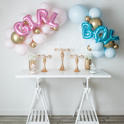Kit d'arche Gender Reveal