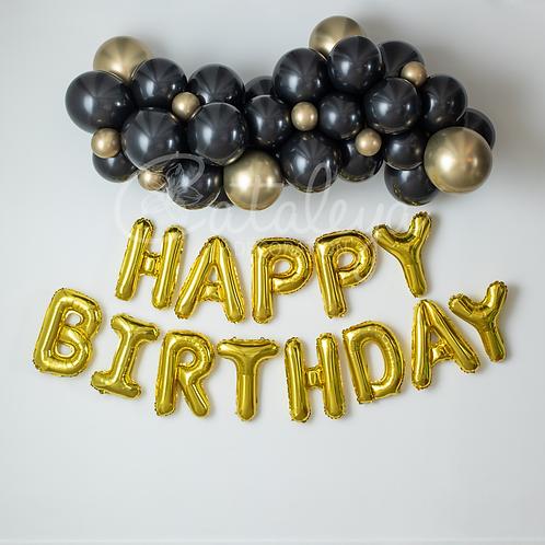Kit d'arche + HAPPY BIRTHDAY