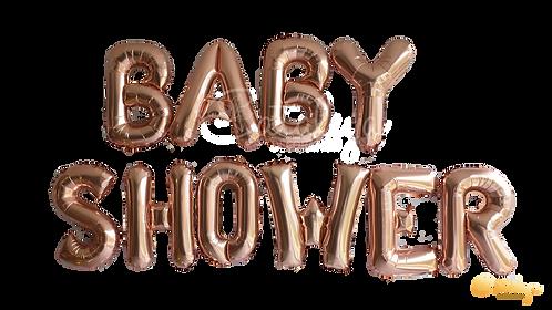 Baby Shower - Ballon effet aluminium