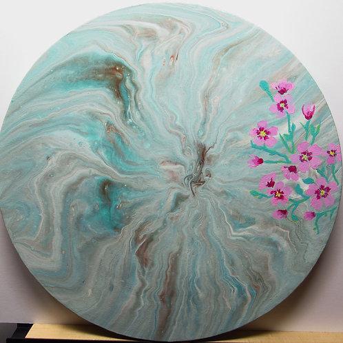 12 Inch Round Canvas