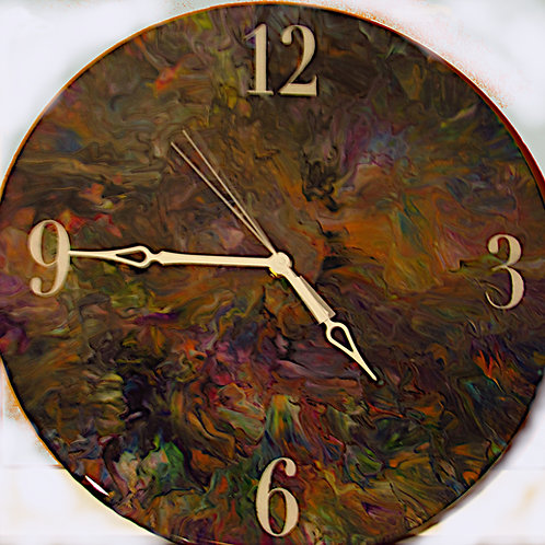 Mulicolor Clock