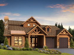 1630  2 Story Home Facade SUS2464