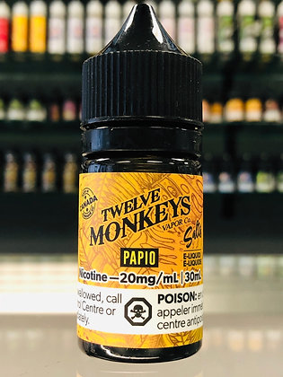 TWELVE MONKEYS SALTS - PAPIO