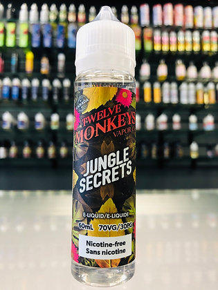 TWELVE MONKEYS - JUNGLE SECRETS