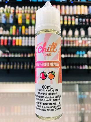 CHILL E-LIQUID - GRAPEFRUIT ORANGE
